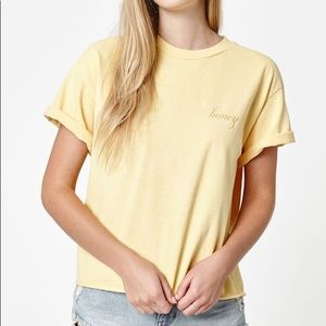 honey brandy Melville tee shirt